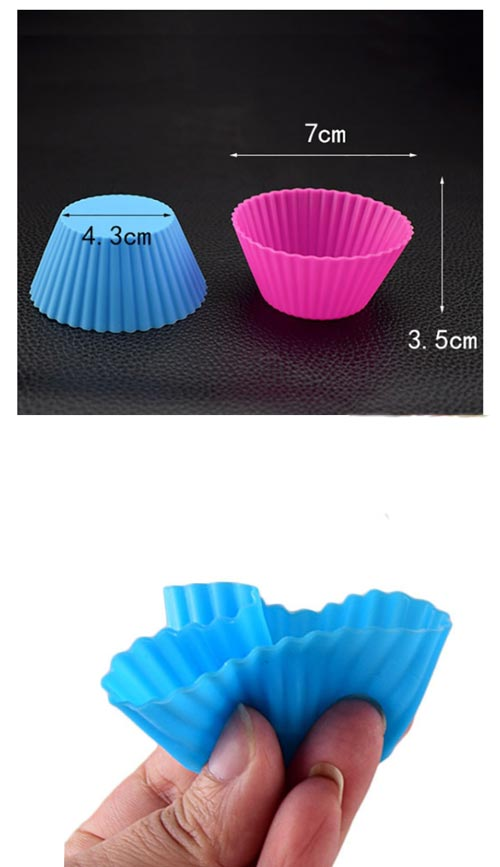 12 Piece Silicone Mould Cup Cake