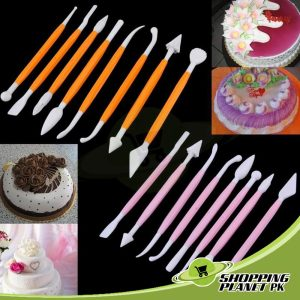 8 pieces Cake Modelling Tool Set For Baking..
