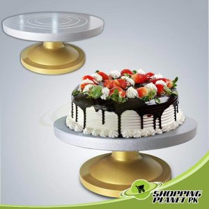 Cake Decorating Turntable With Aluminium Plate In Pakistan