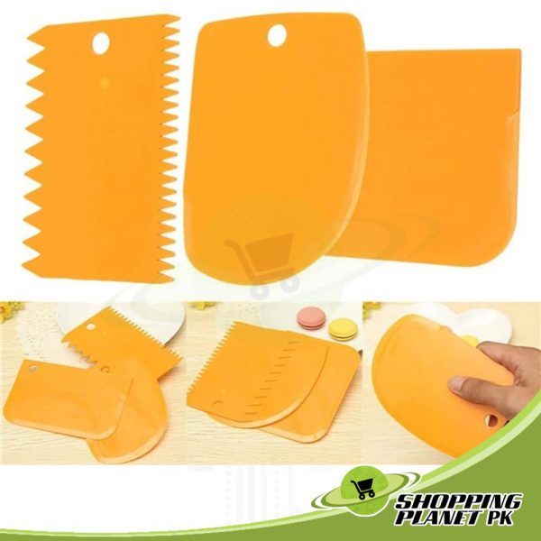 Cake Icing Smoother Comb Set