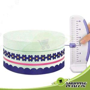 Cake Ruler And Marker For Baking