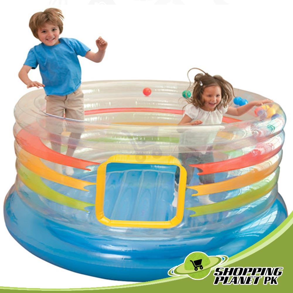 Intex Jump O Lene Transparent Ring Bouncer