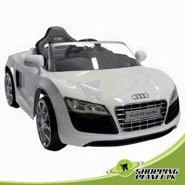 Audi R8 Spyder 12V Chargeable Battery Car for Kids