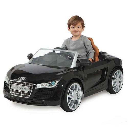 Audi R8 Spyder 12V Chargeable Battery Car for Kids