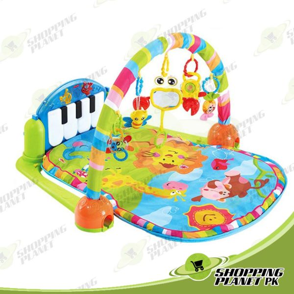 Baby Play Gym Mat With Piano For Baby,