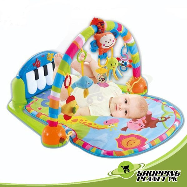 Baby Play Gym Mat With Piano For Baby