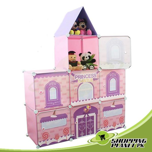 Castle Variety Combination 7 Cube Cabinet