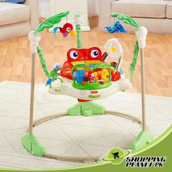 Fisher-Price Rain-forest Jumperoo For Baby.