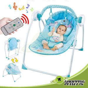 Portable Baby Swing With Remote Control