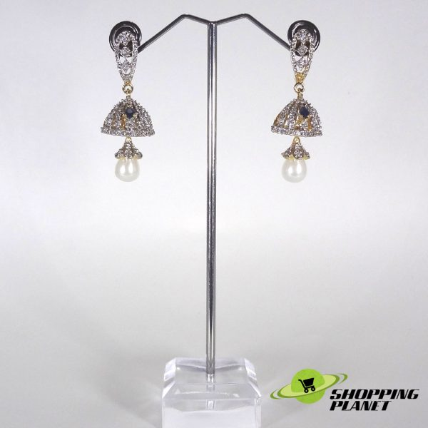 shoppingplanet_Jewllery_earrings_2_tone_zircon_016