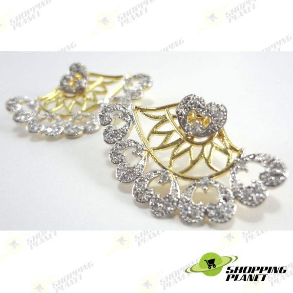 shoppingplanet_Jewllery_earrings_2_tone_zircon_048