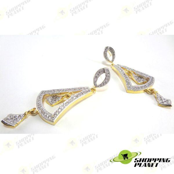 shoppingplanet_Jewllery_earrings_2_tone_zircon_054