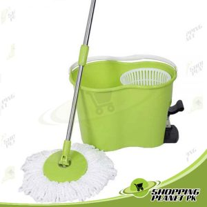 Magic Spin Mop Bucket With Foot Press Sale In Pakistan