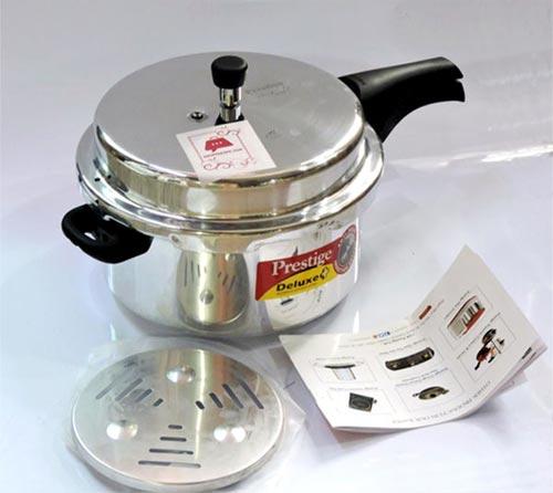 Prestige Aluminium Pressure Cooker For Kitchen