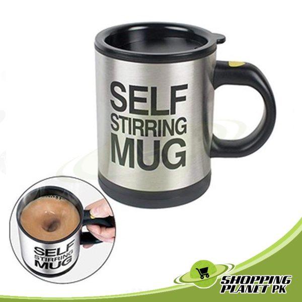 Self Stirring Mug For Kitchens