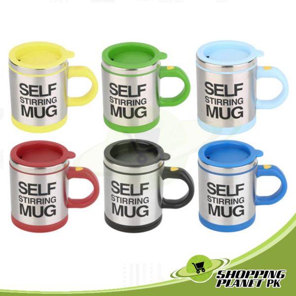 Self Stirring Mug For Kitchenss