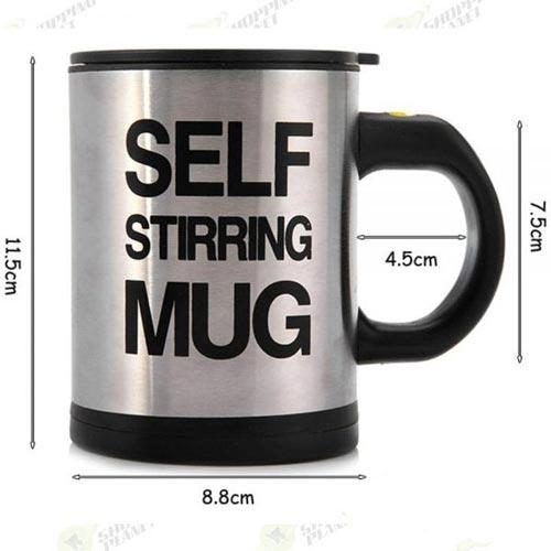 Self Stirring Mug For Kitchen