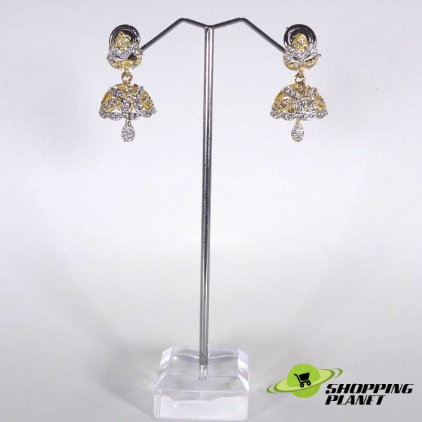 shoppingplanet_Jewllery_earrings_2_tone_zircon_023
