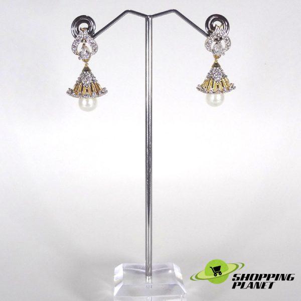 shoppingplanet_Jewllery_earrings_2_tone_zircon_026