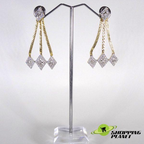 shoppingplanet_Jewllery_earrings_2_tone_zircon_027