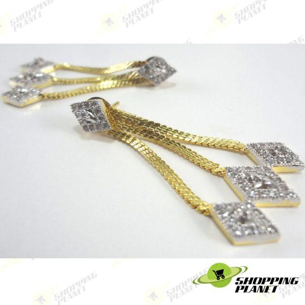 shoppingplanet_Jewllery_earrings_2_tone_zircon_046