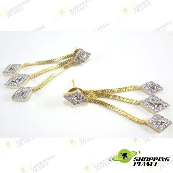 shoppingplanet_Jewllery_earrings_2_tone_zircon_047