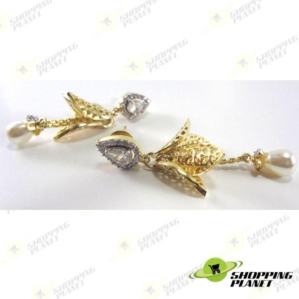 shoppingplanet_Jewllery_earrings_2_tone_zircon_051