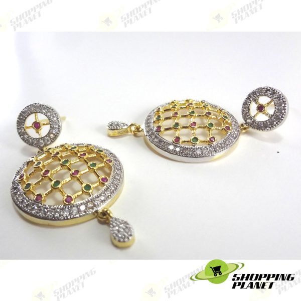 shoppingplanet_Jewllery_earrings_2_tone_zircon_052