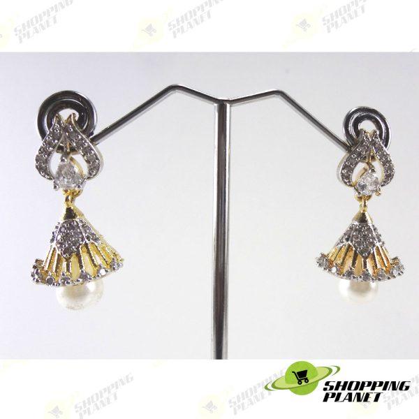 shoppingplanet_Jewllery_earrings_2_tone_zircon_058