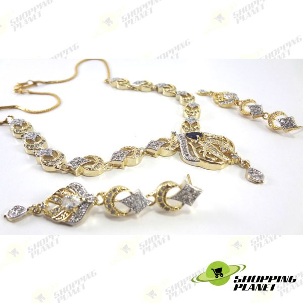 shoppingplanet_Jewllery_necklace_2_tone_zircon_set_069