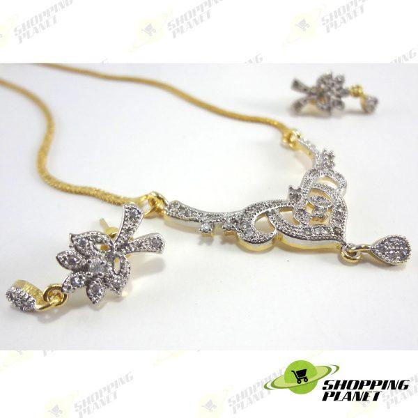 shoppingplanet_Jewllery_pendant_Sets_2_tone_zircon_044