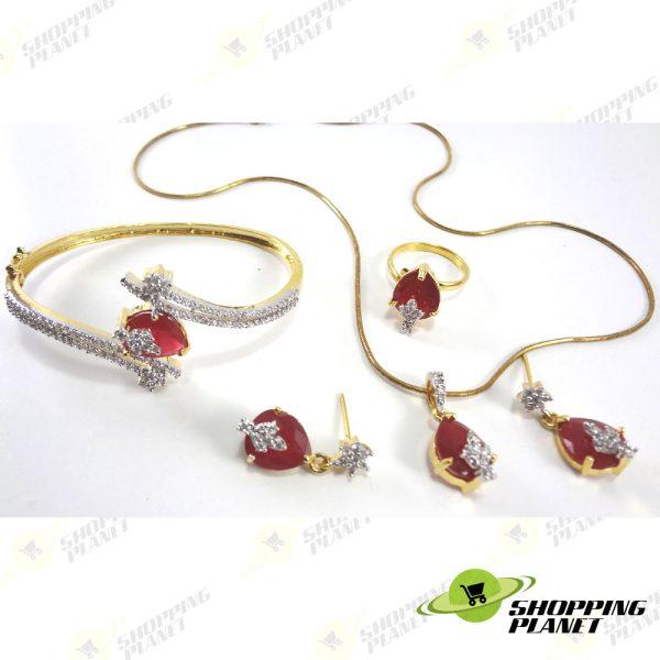 shoppingplanet_Jewllery_pendant_breclet_2_tone_zircon_set__076
