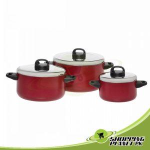 Prestige Cooking Pots 6-Piece Set For Kitchen
