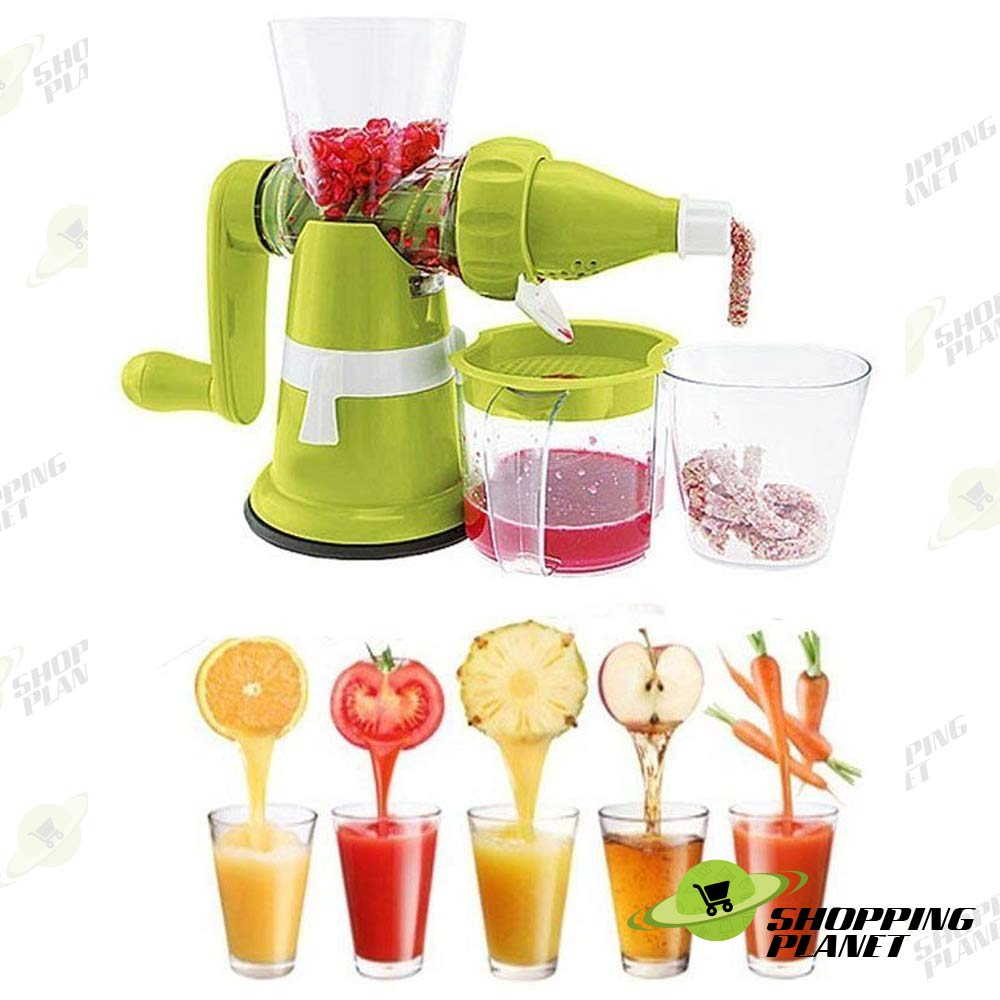 Deal Manual Juicer Machine Green