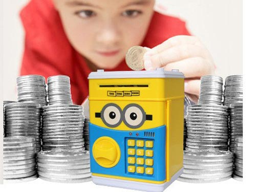 Electronic Mini Money ATM Machine Box For Kids