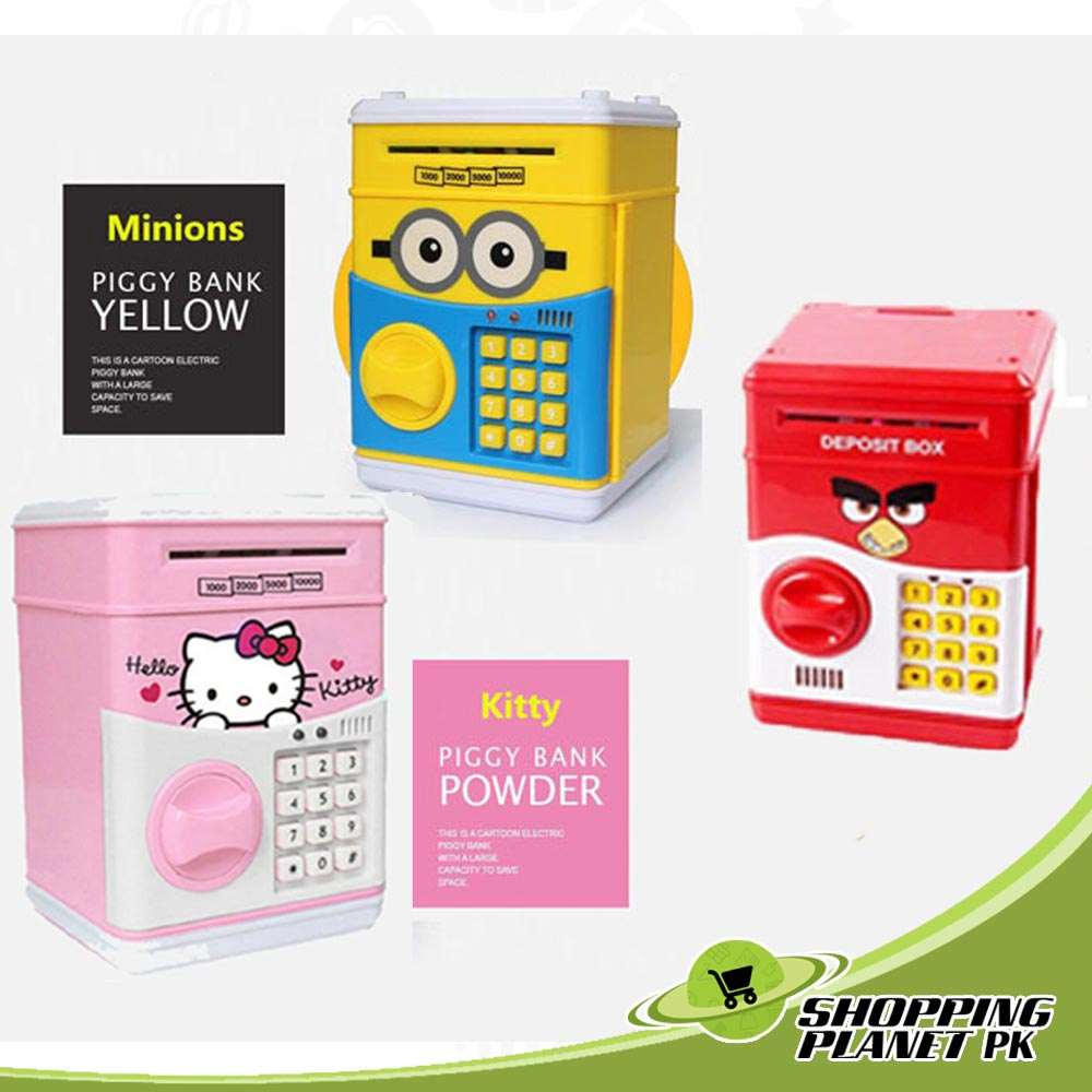 Electronic Mini Money ATM Machine Box