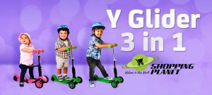 Y Glider Scooter 3 in 1 in Pakistan