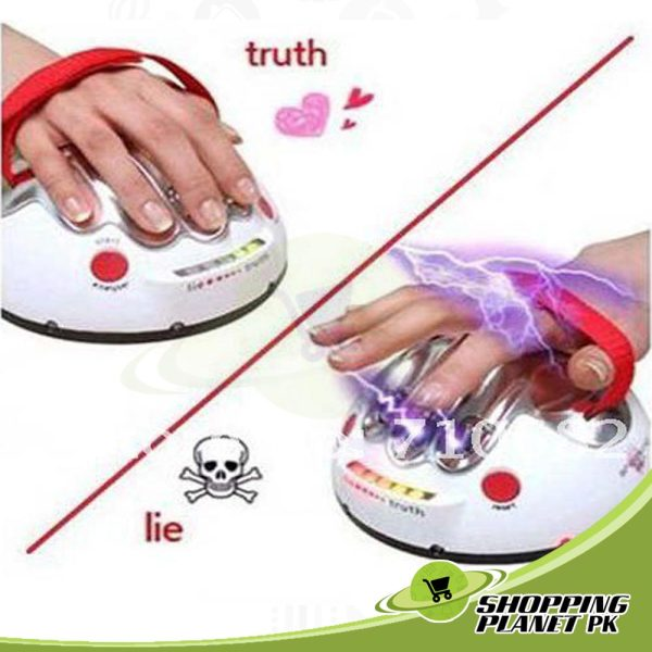 Electric Shocking Test Lie Or Truth Detector Machine Games