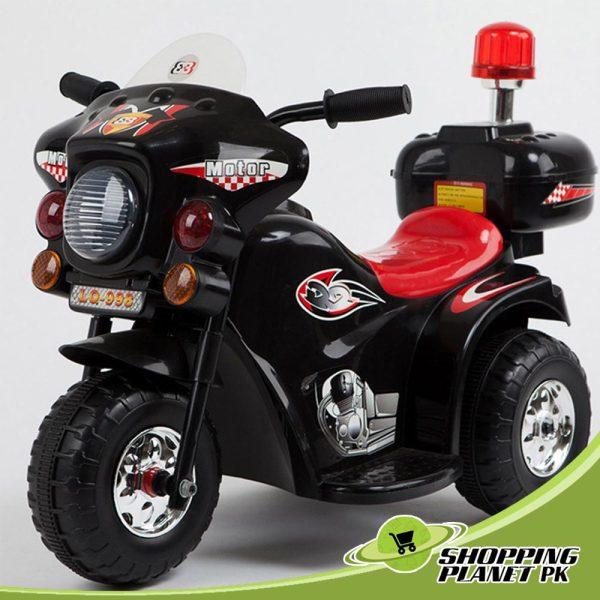 Kids-Battery-Operated-Police-Bike
