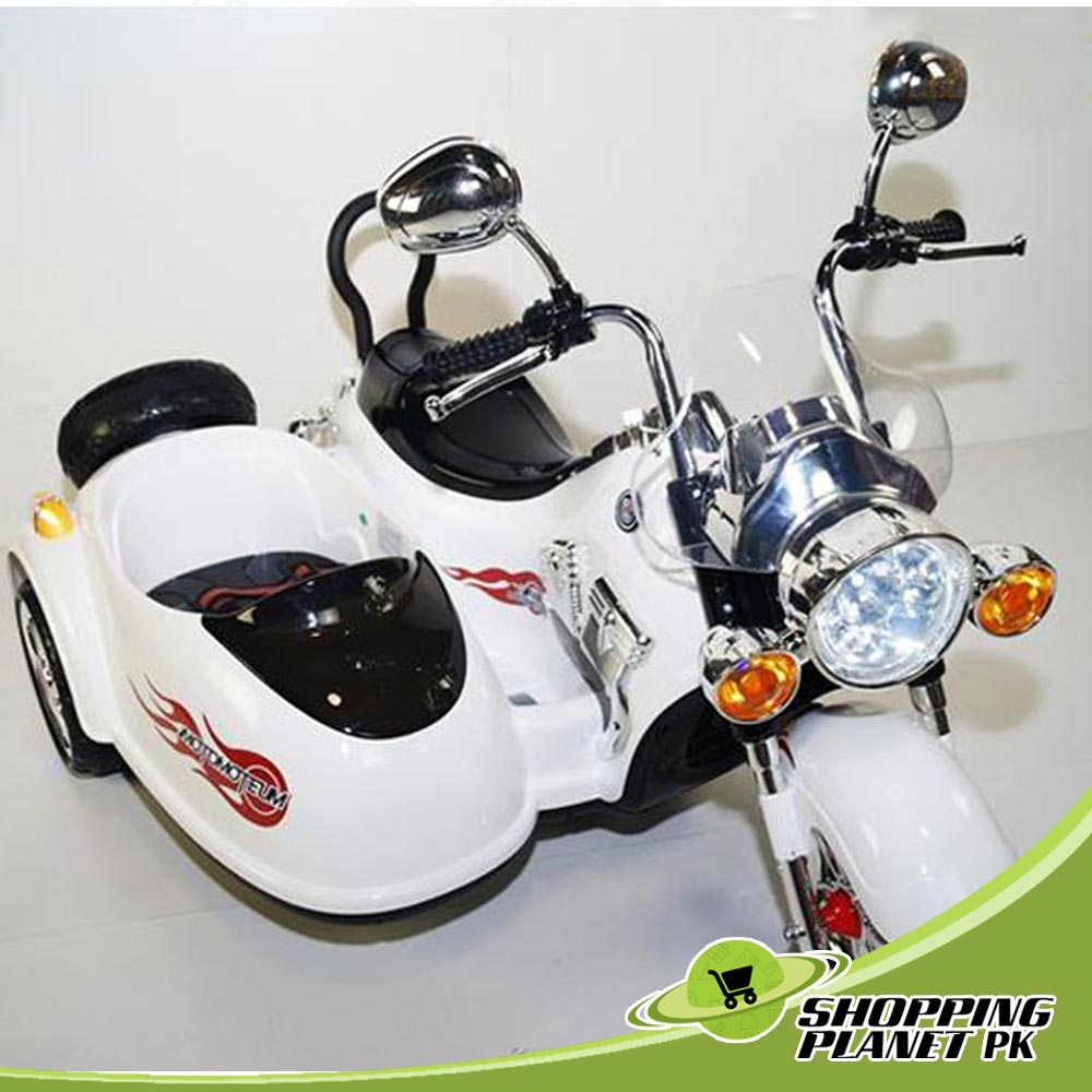 Electric Kids Motorcycle B-SX138-W