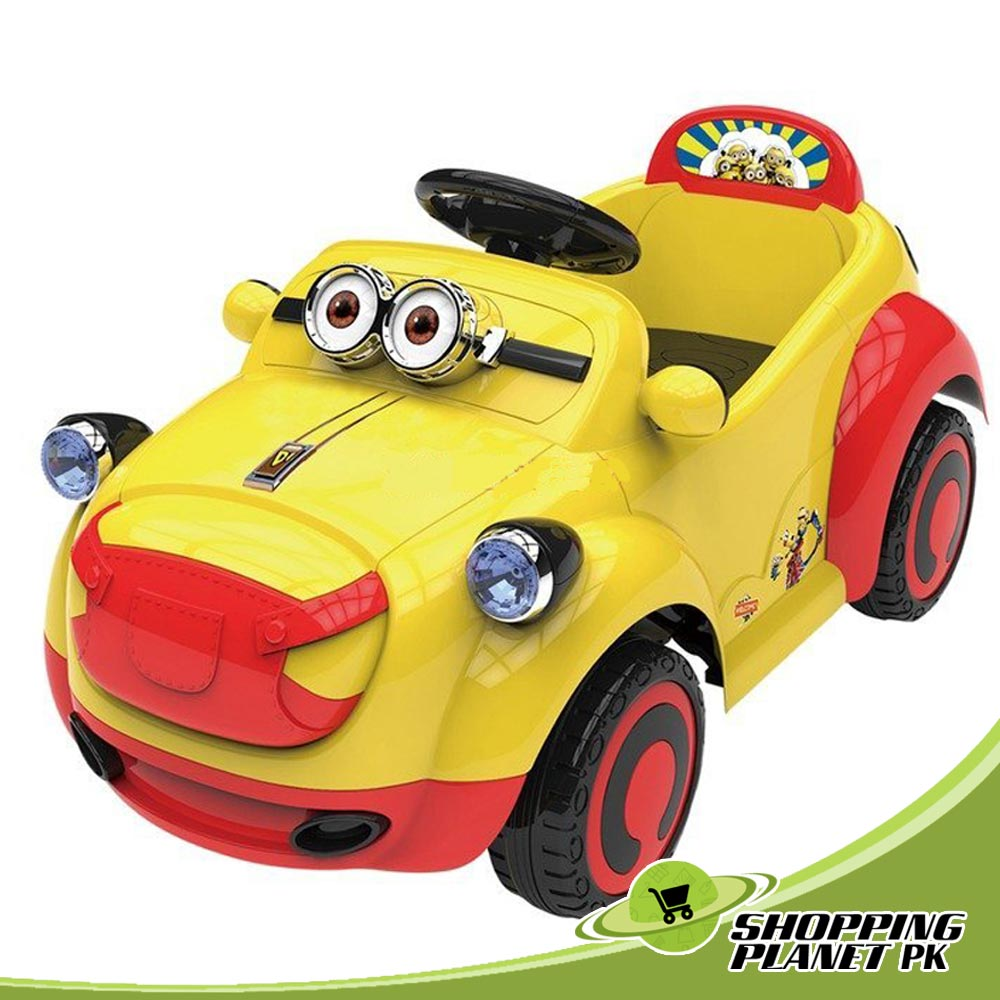 Minion Battery Operated Ride On Car For Sale In Pakistan