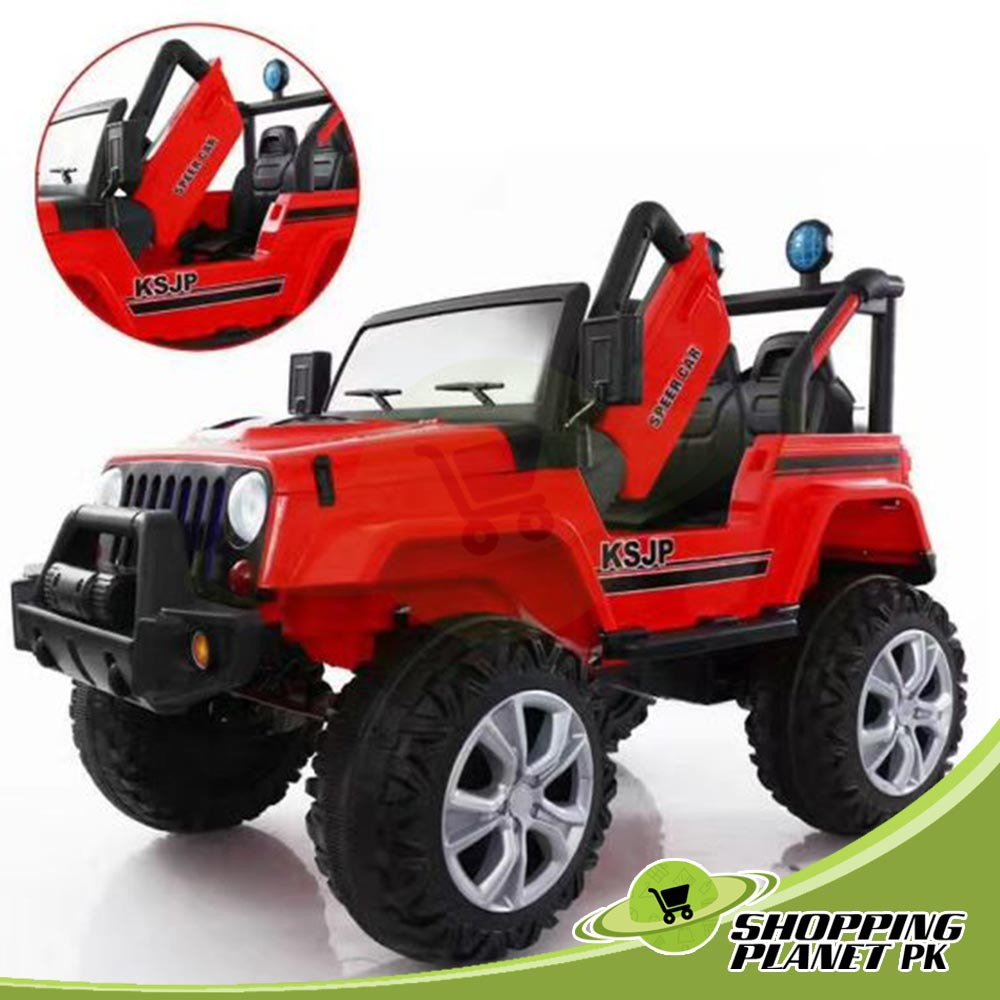 KSJP Jeep Ride on Car Battery Operated For Kids