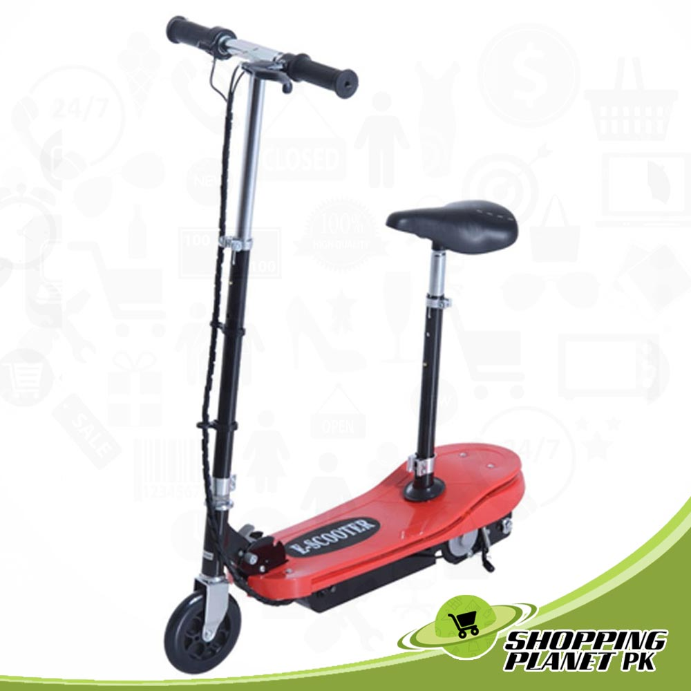 Kids E Scooter Ride on Folding Rechargeable Battery with Light