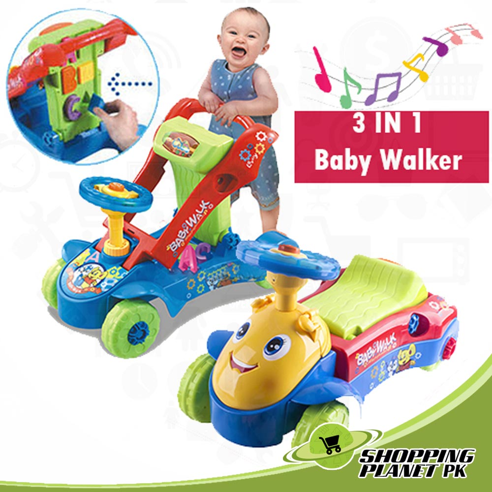 Multi Functional Educational Kids Walker