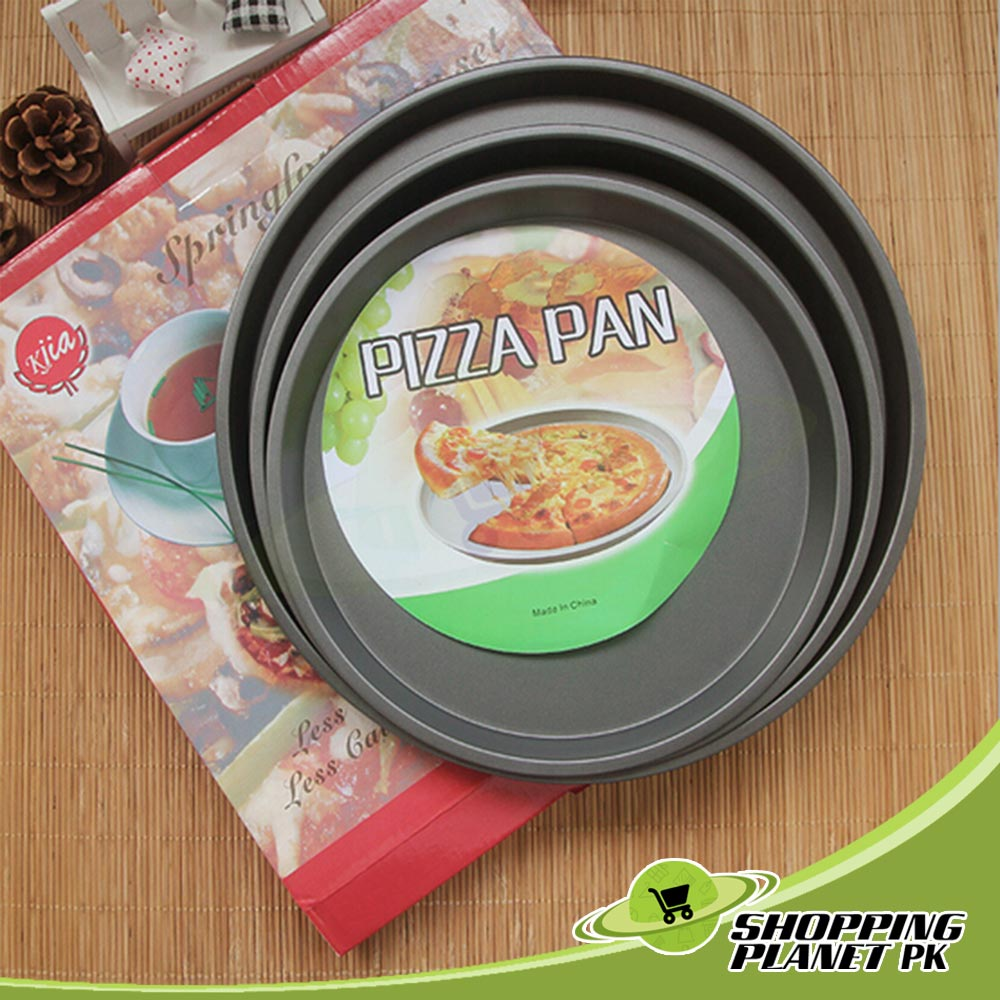 Pizza Non Stick Pan 3 Pcs For Home