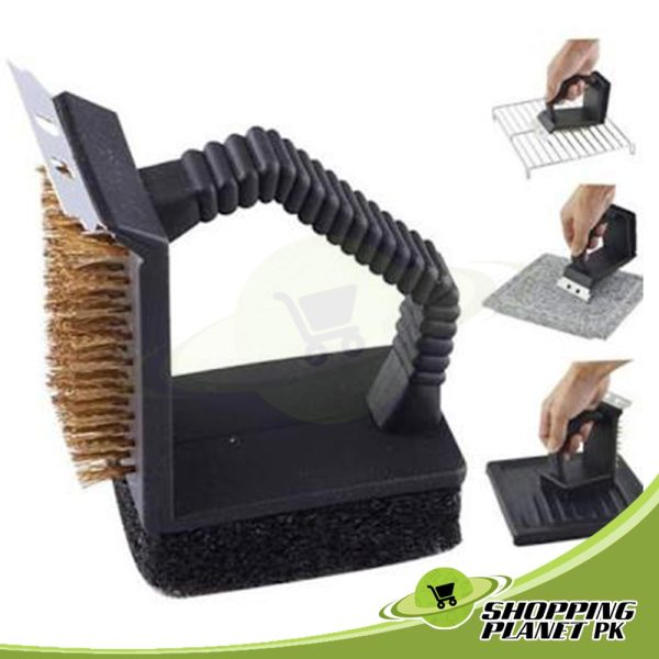 BBQ Grill Brush With 3 in 1 Options