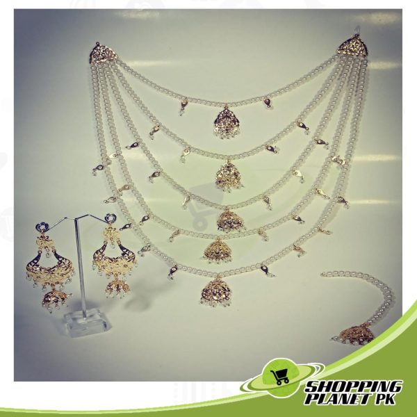 Hyderabadi Long Rani Haar Jewellery Online For Sale In Pakistan,
