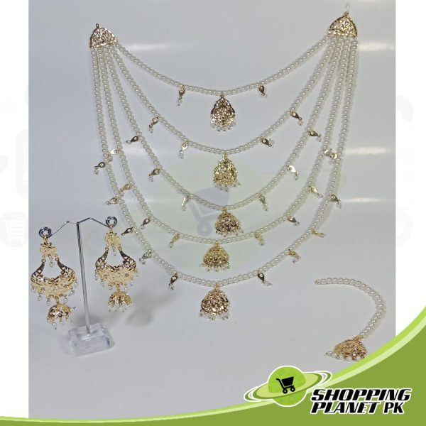 Hyderabadi Long Rani Haar Jewellery Online For Sale In Pakistan