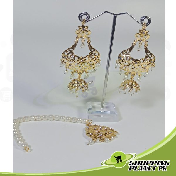 Hyderabadi Long Rani Haar Jewellery Online For Sale In Pakistan.