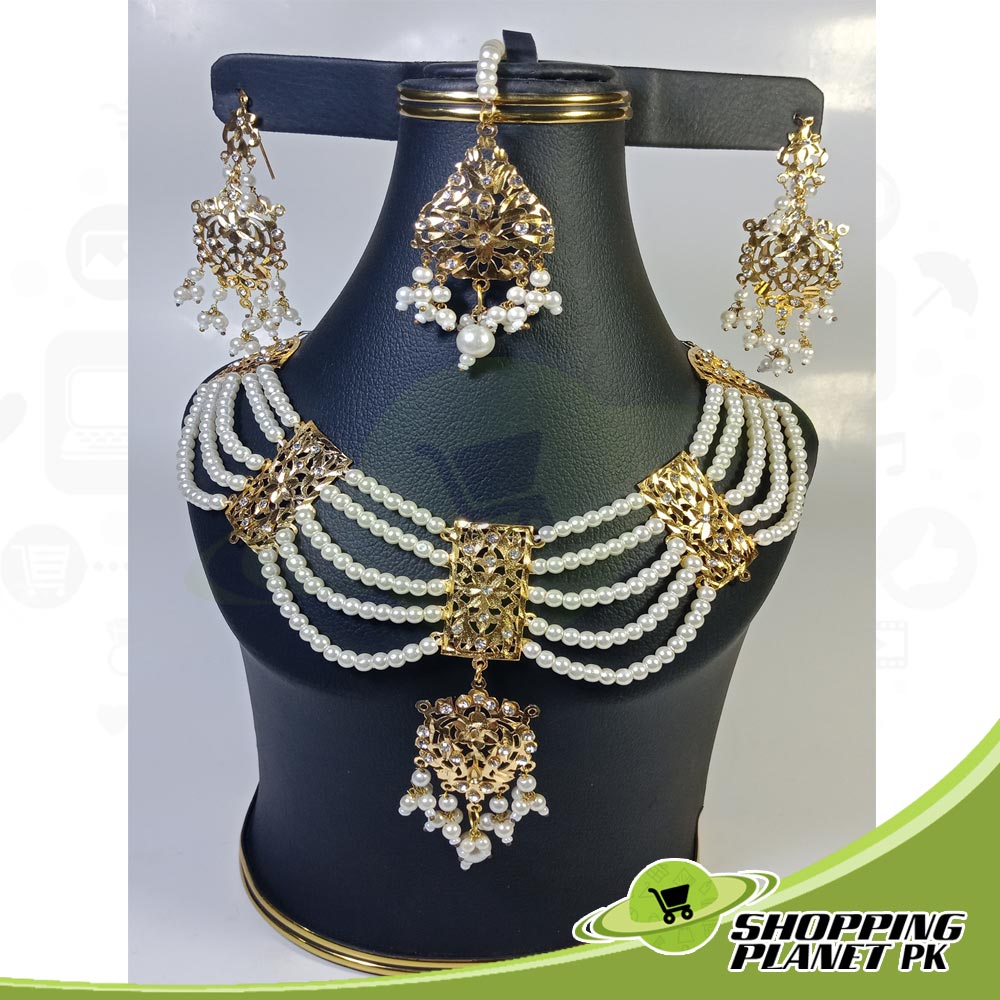 Hyderabadi bridal Jewellery Set For Sale in Pakistan